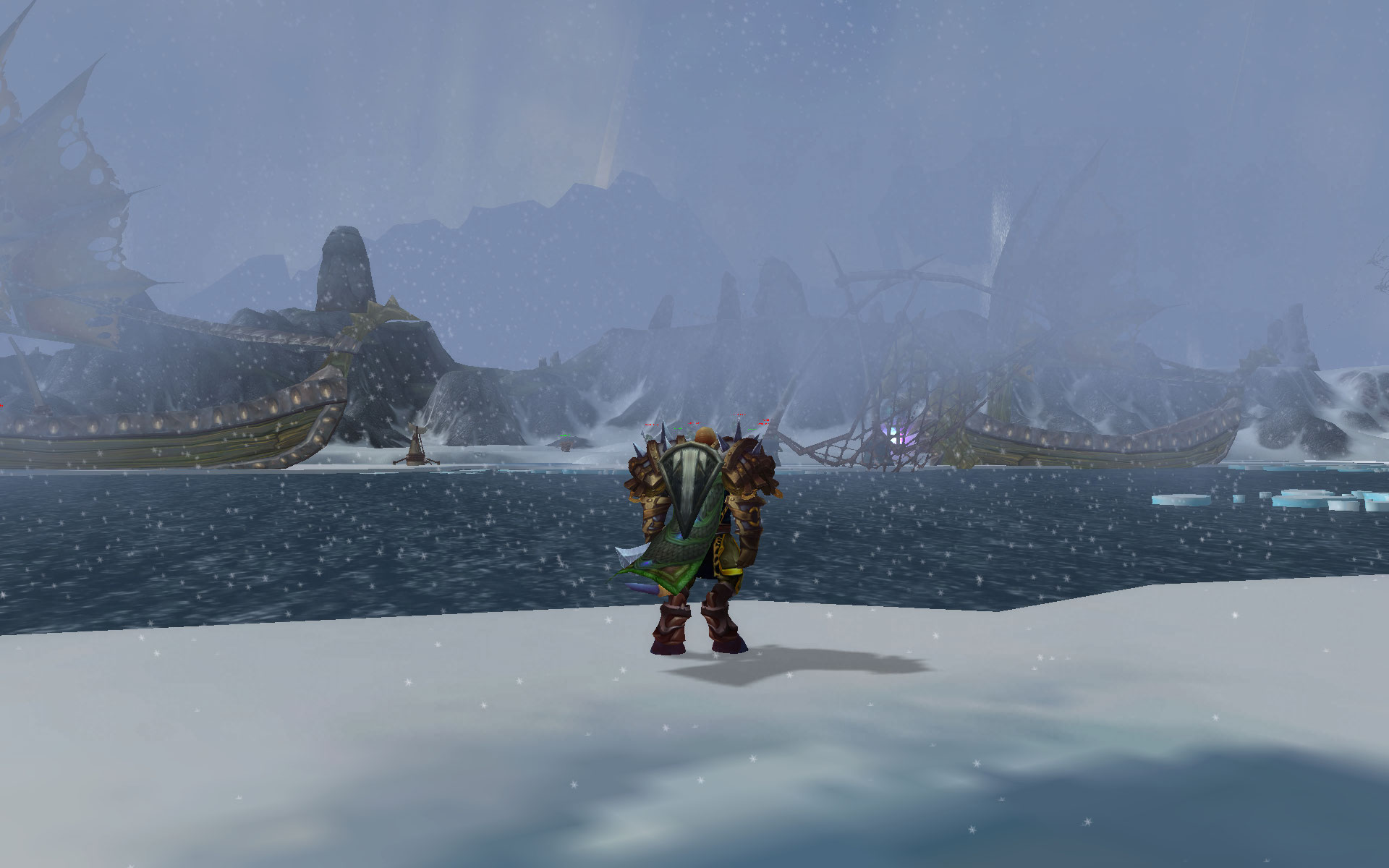 how to get to borean tundra from stormwind